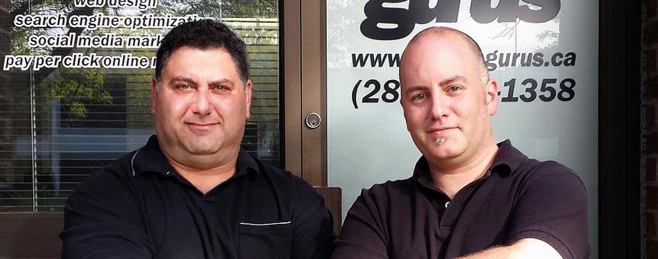 Founders of Search Gurus Inc. - Paul and John