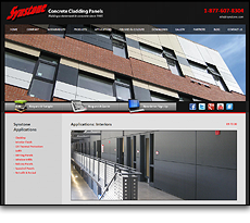 Synstone International Concrete Cladding Systems