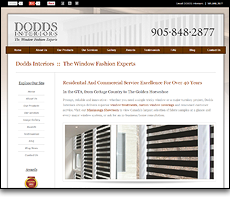 Dodds Interiors - Window Fashion Experts in Mississauga